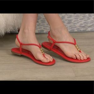 Katy Perry The Jubee Beaded Thong Sandals